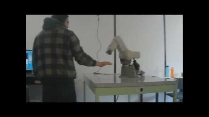 Human Robot Interaction UPIITA IPN (OpenCV RTAI)