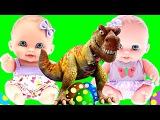 Куклы Пупсики Яйца Динозавров Мультик Новые серии Игры и Игрушки для девочек Мультик про куклу