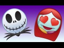 The Nightmare Before Christmas As Told By Emoji Disney