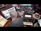 Love &amp Hip Hop Producer Makes A Beat ON THE SPOT - Shareef Islam ft Allegra Jane
