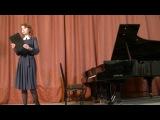 Концерт учащихся лицея МаГК им. М. И. Глинки, 1.12.2016