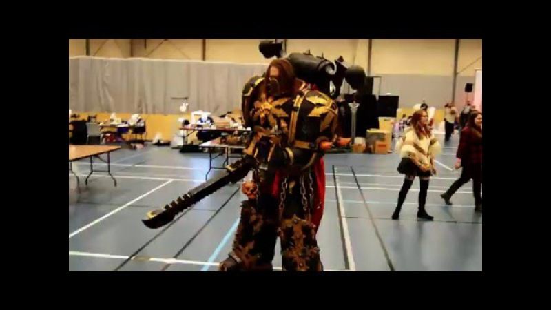 The black legionar at Hydracon 2016