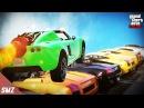 로켓볼틱 부스터로 차량 10대를 밀수 있을까?! 과연 로켓볼틱의 힘은?! 사모장의 GTA5 꿀잼 컨텐츠 (GTA 5 Funny Conten...