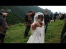 აფხაზურ-სვანური ქორწილი თანამედროვე წყვილი უძველესი ტრადიციების დაცვით