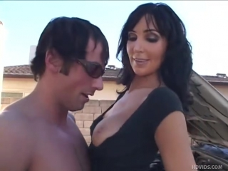 Big titted brunette Diana Prince on her knees for hardcore fucking   290382