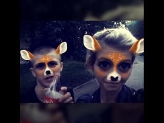 Дмитрий, две оленёнки, патимейкер