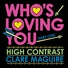 High contrast clare maguire