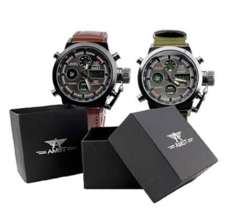 часы AMST и упаковка