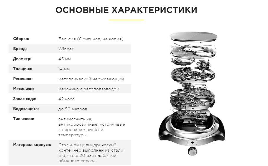 Внешний вид, устройство и характеристики скелетон Виннер