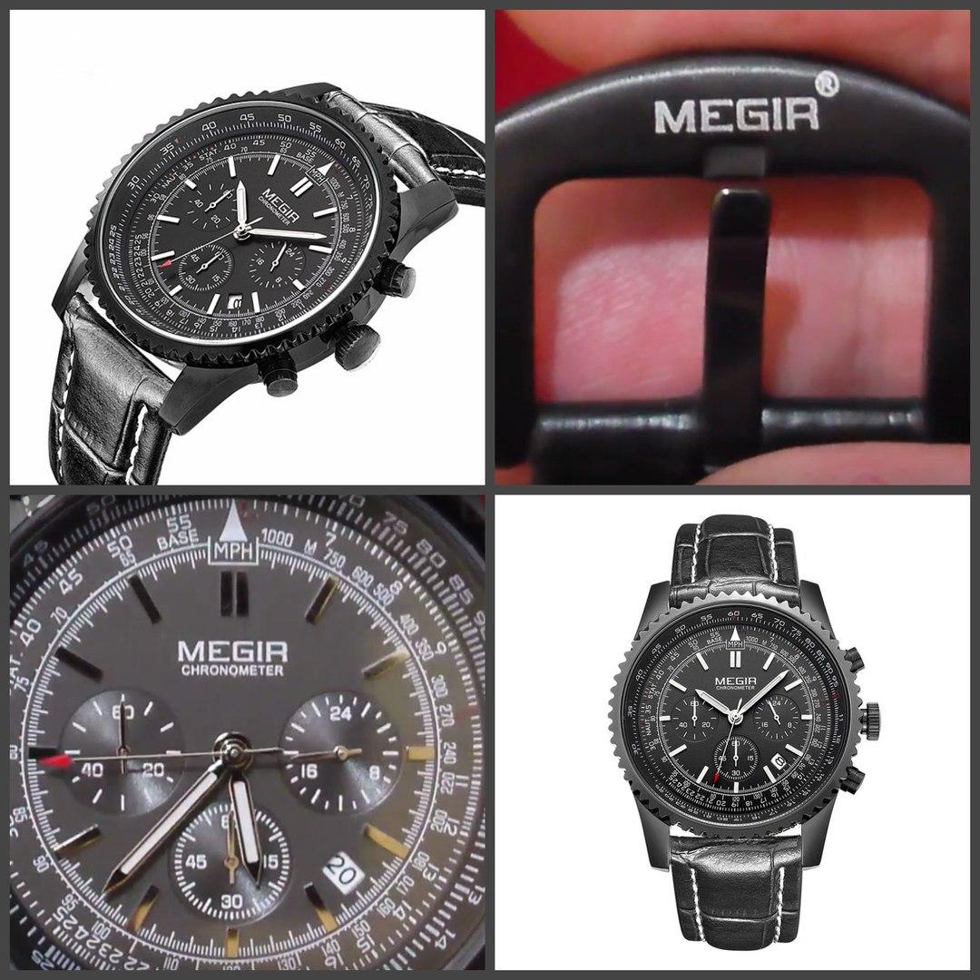 Дешёвые командирские часы Мегир Хронометр, купить за 2790 руб