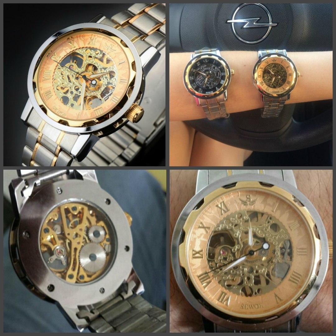 Часы скелетоны - Winner Prestige Skeleton купить в Москве