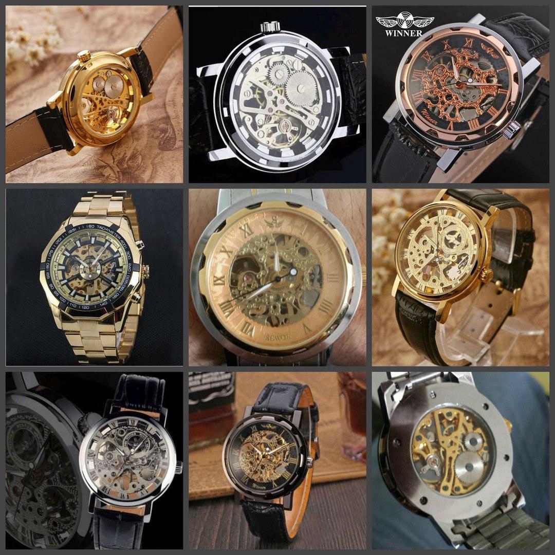 Модели часов Скелетон Виннер за 2890 руб.