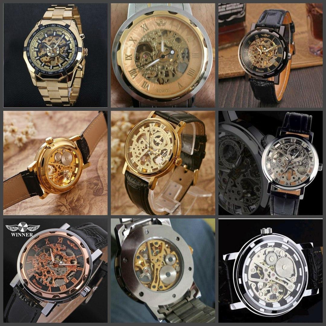 Модели часов Skeleton Winner 2890 руб