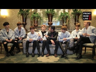170403 BTS and RobertHerrera3 talk about writing process, choreography, Wale collaboration  Front Row Ent.