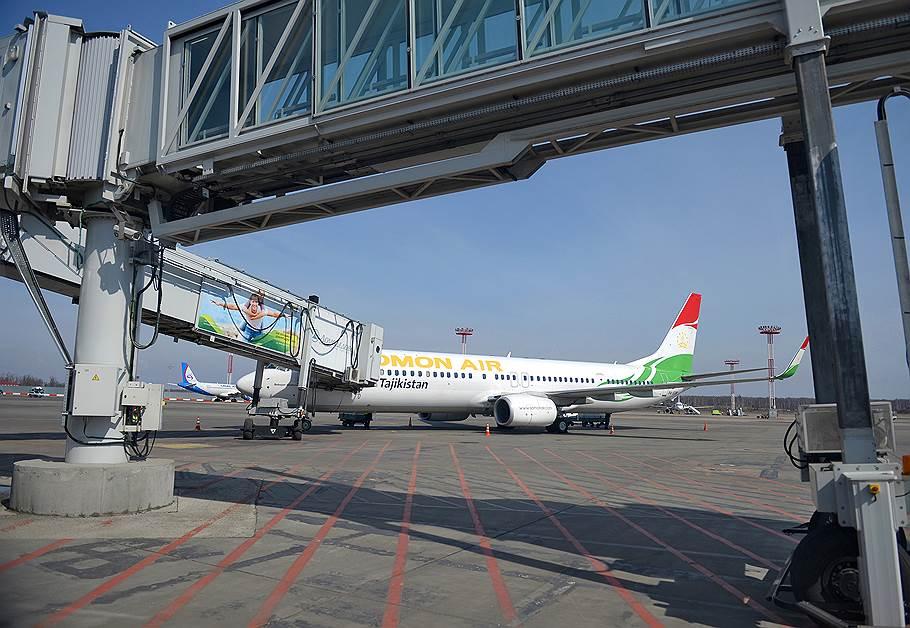 Россия может приостановить воздушное сообщение с Таджикистаном