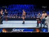 [Crossface] Кейн, Дин Эмброуз и Джеймс Эллсворз против Семейки Уайатта - Smackdown Live 08.11.2016