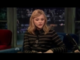 2011.11.22 Chloe Grace Moretz on Late Night With Jimmy Fallon, New York