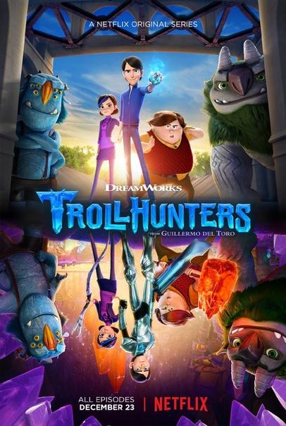 Охотники на троллей 1 сезон 1-18 серия AlexFilm | Trollhunters