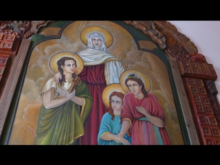 Вера, Надежда, Любовь и их мама.
