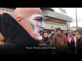 Артысты Сirque du Soleil выступілі на вуліцах Менску