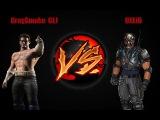 (MK9) THE GIRL!!! IS GODLIKE  GraySmoke GLJ (J.Cage) vs DXLili (Kabal)
