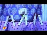 Clothespin Puppets Reenact A Midsummer Night's Dream