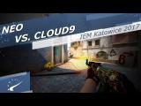 NEO vs. Cloud9 - IEM Katowice 2017 1v4