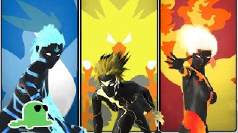 EPIC Pokemon Fight Animation - Project Legendary - Moltres Zapdos Articuno FIGHT