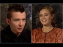 Asa Butterfield and Ella Purnell play False or Peculiar