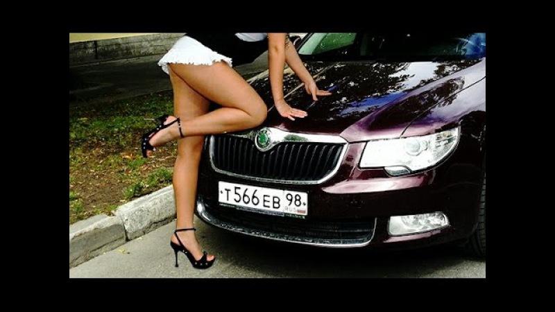 ТЕСТ-ДРАЙВ: SKODA SUPERB FACELIFT - EXTREME DRIFT TEST DRIVE NASTY GIRL