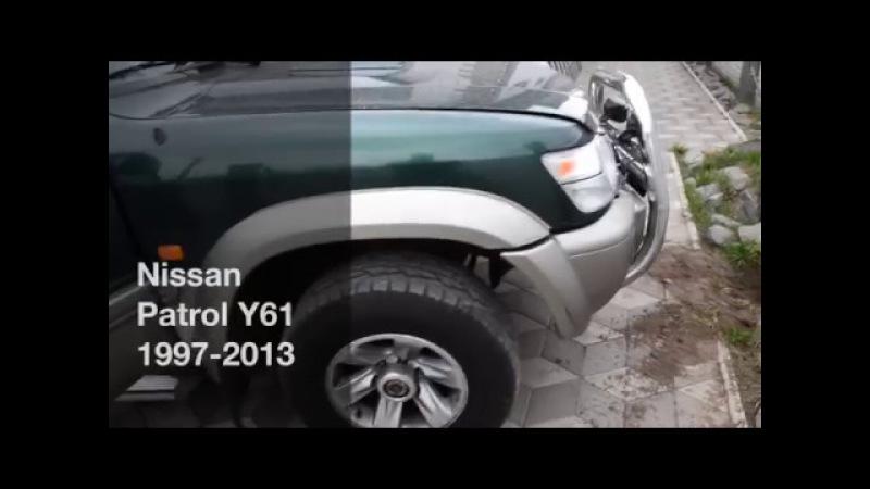 Авточехлы для Nissan Patrol Y61, чехлы серии Leather Style (АрпатекАлькантара) MW Brothers