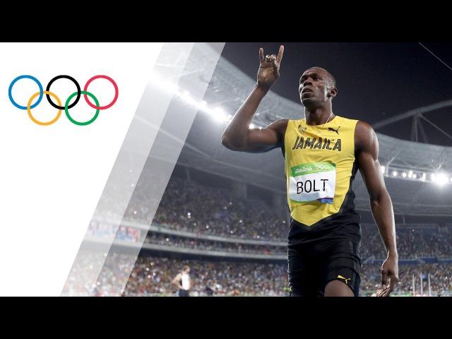 Usain Bolt wins third Olympic 200m gold