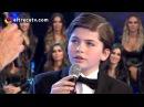 Martín de 12 años cantó Caruso y conmovió a todo el piso