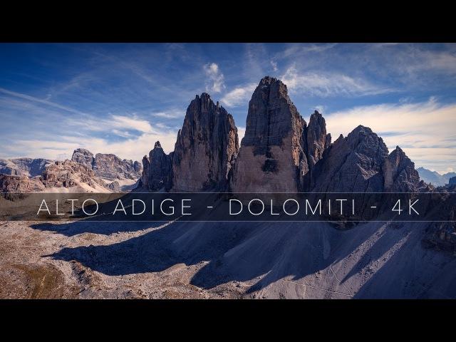 Alto Adige | Dolomiti | Südtirol in 4K - DJI Phantom 4 Drone | FPV