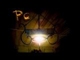 Кованный светильник+дуб. Проект