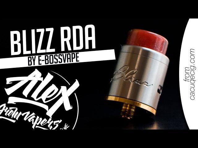 Blizz RDA l from l Alex VapersMD review 🚭🔞