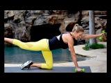Интервальная тренировка для тонуса - Для начинающих. Interval Training Workout to Tone Up - True Beginner Fitness Challenge & Meal Plan Day 24