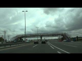 Mardakan to Yasamal. Time lapse