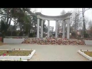 Вот как поляки чтут память красноармейцев 26.11.2016