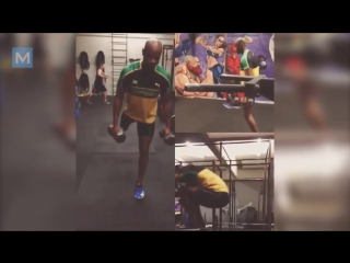 Asafa Powell Strength and Conditioning Training for Comeback Muscle Madness