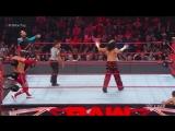 RAW Hardy Boyz, Cesaro &amp Sheamus vs. Gallows And Anderson &amp Shining Stars - April 10, 2017