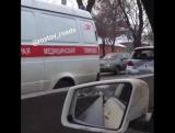 ДТП на Шолохова, Toyota Vitz и Volkswagen Pointer 28.12.16  Ростов-на-Дону