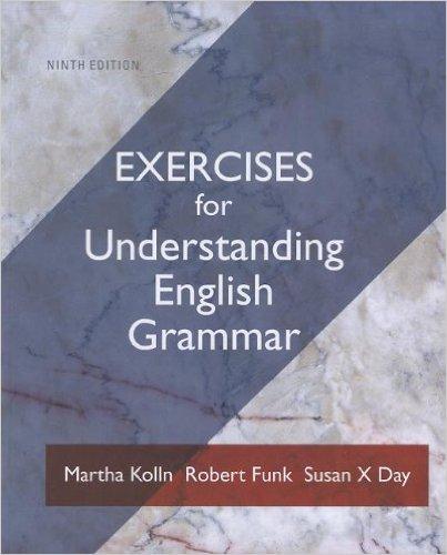 Exercise Book Understanding English Grammar