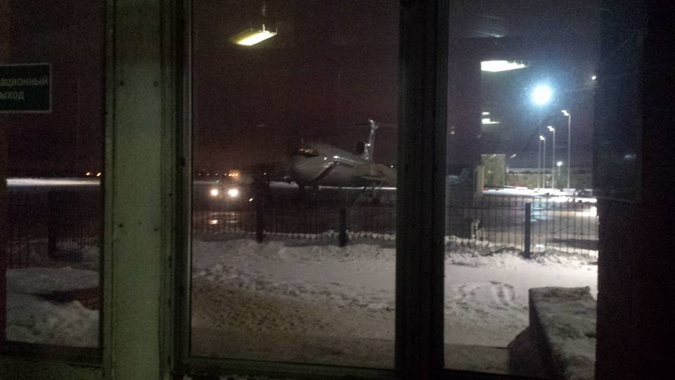 В Сочи упал самолет Минобороны Ту-154