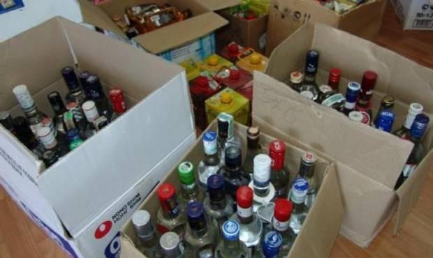В Исправной задержана крупная партия контрафактного алкоголя