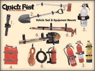 Помогите найти аналог Super Quick Fist или нормального(не на липучке) крепление для огнетушителя/лопаты.