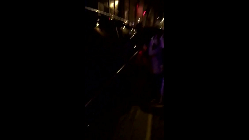 October 19: Fan taken video of Justin leaving a recording studio in Liverpool, UK.