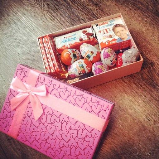 Шоколадки в подарок