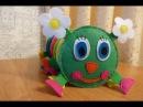 Развивающая игрушка из фетра Веселая гусеница