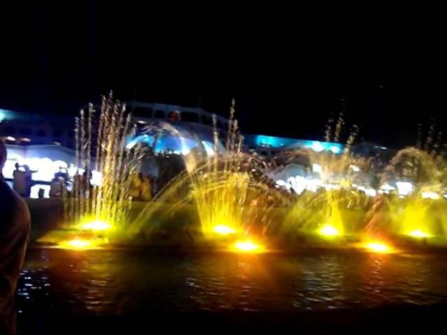 Поющие фонтаны. Египет. г.Хургада. Отель